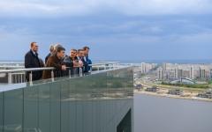 Новости  - Рустам Минниханов предложил соединить Фуксовский сад с Кремлевской набережной