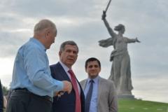 Новости  - Президент Минниханов посещает Волгоград