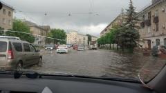 Новости Погода - Утро в Казани: после ливня затопило улицы города