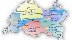 Новости  - 11 октября по Татарстану ожидается облачность с прояснениями