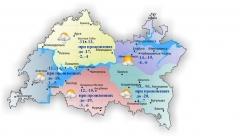 Сегодня по Татарстану температура поднимется до максимум 2 градусов мороза