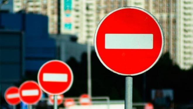 До 25 января в Казани ограничено движение транспорта по улице Ершова