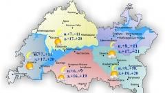 Новости  - Сегодня по Татарстану ожидается до 21 градуса днем