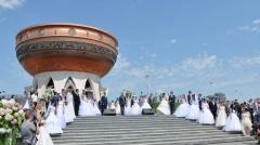 Новости  - За 2017 год в Татарстане выросло число браков
