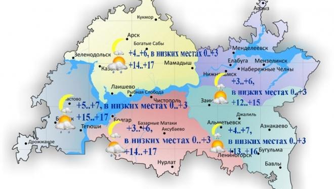 Новости  - 20 сентября в Татарстане облачно с прояснениями и небольшой дождь