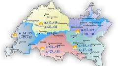В Татарстане температура сегодня поднимется до 32˚