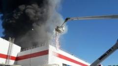 Новости  - В Зеленодольске произошел пожар на заводе POZIS, пострадавших нет