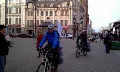 Новости  - В Казани стартовала велокругосветка