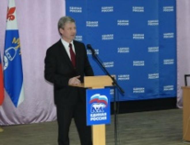 Рафаэль Валиуллин выступил перед земляками с предвыборной программой
