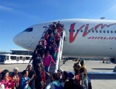 Новости  - Сегодня в аэропорту Казани приземлился первый туристический чартер из Пекина