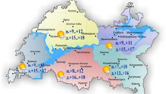 Новости  - 3 августа по Татарстану ожидаются небольшие осадки