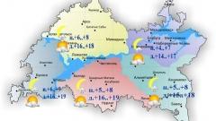 15 июня по Татарстану ожидается переменная облачность