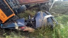 Новости Происшествия - Семейная пара разбилась насмерть на дороге Татарстана