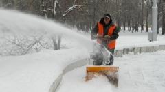 Новости  - В Татарстане к уборке снега привлекли осужденных