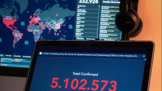 Новости  - За последние сутки по России 8 572 новых случая заражения