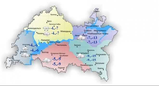 Гидрометцентр РТ: завтра по республике ожидается сильный ветер