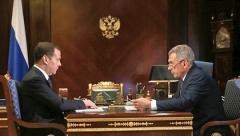 Президент Татарстана встретился с Дмитрием Медведевым