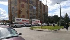 Новости  - На Горьковском шоссе в Казани столкнулись несколько авто сразу