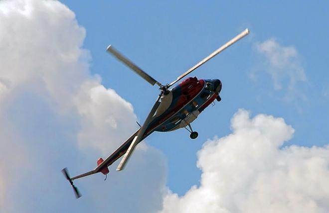 В Альметьевском районе РТ совершил жёсткую посадку вертолёт Ми-2