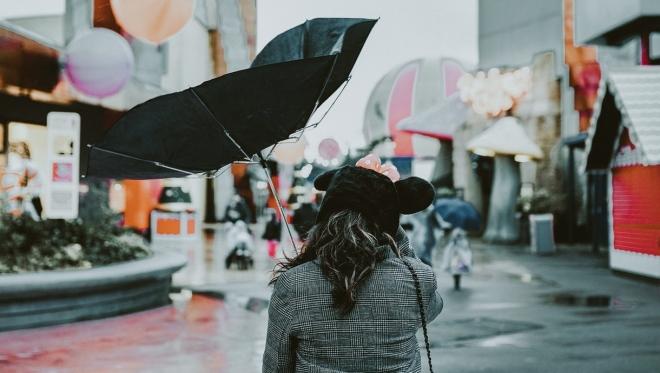 В ночь на 24 июля ожидаются осадки в виде дождя и града