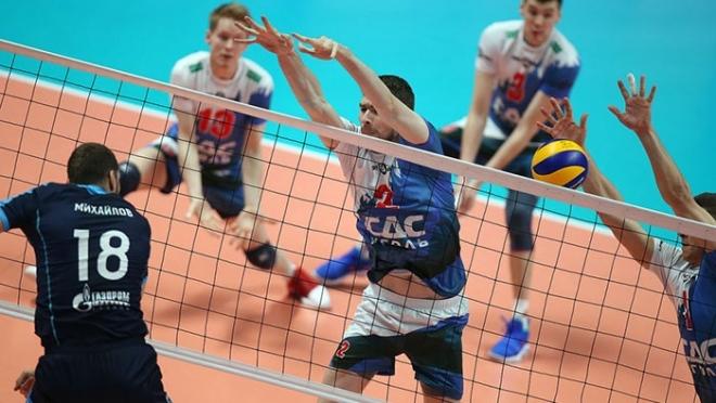 Матч в Белгороде: казанские волейболисты одержали победу