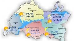 Новости  - 29 июля по Татарстану ожидается облачность с прояснениями