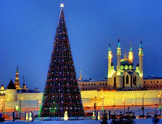 Скоро Новый Год: где отдохнуть в Казани?