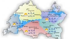 Сегодня по Татарстану без существенных осадков