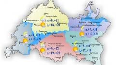 Новости  - Гидрометцентр РТ: температура поднимется сегодня до максимальных +17..+22°
