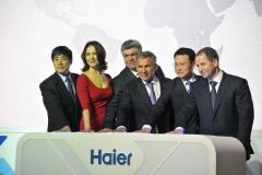 Новости  - Минниханов открыл завод по производству холодильников Haier в Набережных Челнах