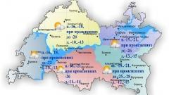 Новости  - 10 января в Татарстане ожидается слабый юго-западный ветер