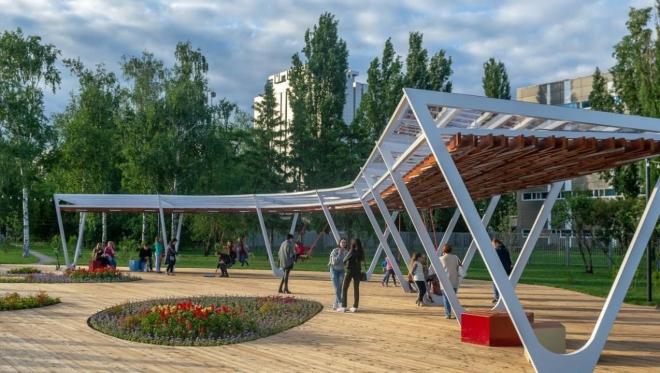 Новости  - Казанские парки и скверы признаны лучшими в стране