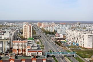 В Казани отремонтировали 1,8 км проспекта Амирхана