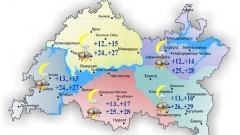 Новости Погода - Сегодня максимальная температура воздуха составит в Татарстане 29 градусов