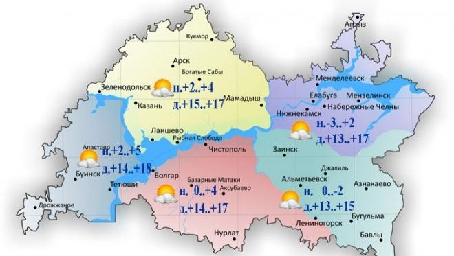 Новости  - Сегодня в Татарстане переменная облачность и без осадков