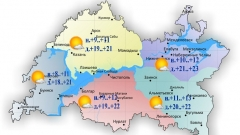 Завтра в Казани температура воздуха поднимется до 21 градуса