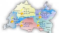 Сегодня по Татарстану ожидается малооблачность