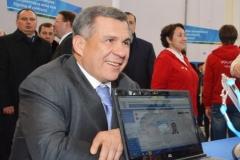 Новости  - Президент Минниханов свой бейдж на Универсиаду уже получил
