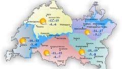 Новости  - 12 ноября по Татарстану слабый переменный ветер и без осадков