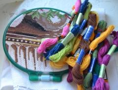 Новости  - Искусство вышивки - не просто увлечение, а стиль жизни