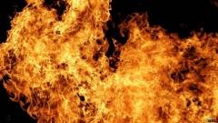 Новости  - Из горящей ДРКБ эвакуируют людей