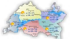 Новости  - Сегодня по Татарстану воздух прогреется до 32 градусов