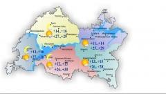 Новости  - Завтра в Татарстане воздух прогреется до 30 градусов