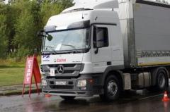 Новости  - В Набережных Челнах прошел конкурс водителей-дальнобойщиков