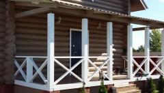 Строительство домов из бревна в Казани
