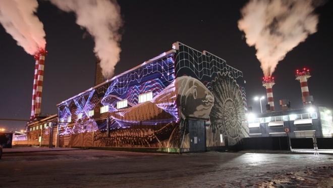 Новости  - В Альметьевске появилась первая в России постоянная лазерная инсталляция