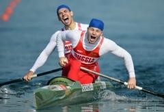 Новости  - Российские спортсмены завоевали два «золота» в гребле на каноэ