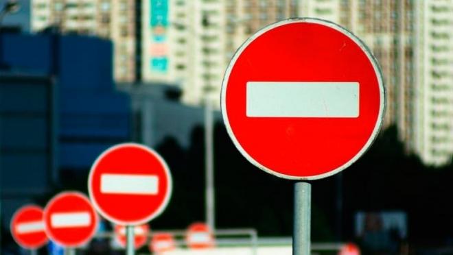 В столице Татарстана временно ограничили движение по улице Зелёная