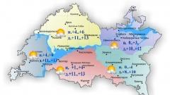 Новости Погода - Сегодня по Татарстану без существенных осадков