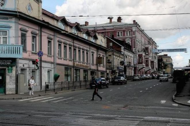 Новости  - Казань: улицу Горького закроют до понедельника